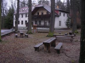 Chata Živec - Písek