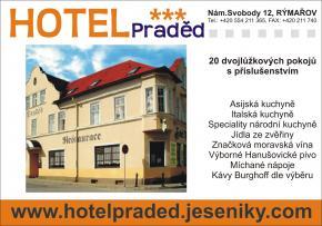 Hotel Praděd Rýmařov - Rýmařov