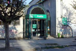 Zastávka Petřínské lanovky Petřín