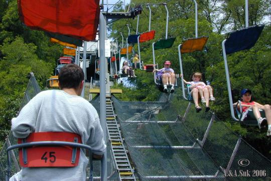 ZOO Chair Lift at Troja