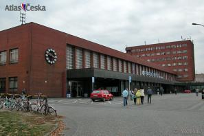 Hlavní nádraží Pardubice.