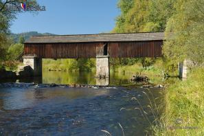 Dřevěný most u Lenory