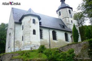 Kostel Dobrého pastýře - Podhradí