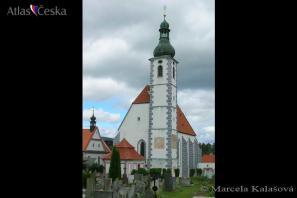 Kostel Nanebevzetí Panny Marie - Kájov