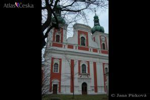 Poutní kostel Panny Marie Sedmibolestné - Krnov