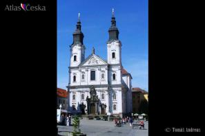 Kostel Neposkvrnění početí Panny Marie a sv. Ignáce - Klatovy