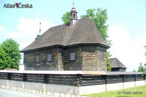 Dřevěný kostel sv. Mikuláše - Veliny