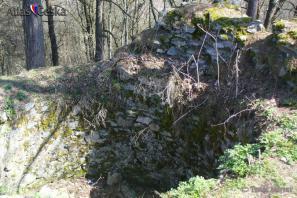 Zřícenina hradu Budětice (Džbán)