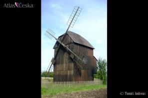 Větrný mlýn Rymice