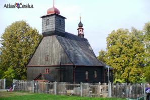 Dřevěný kostel sv. Michala - Řepiště