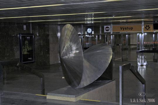 Stanice metra Palmovka