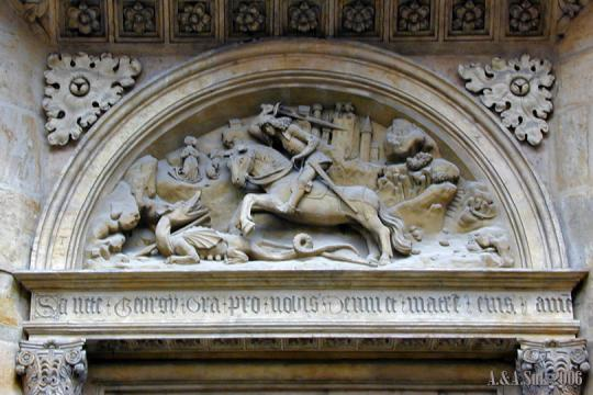 Boj sv. Jiří s drakem