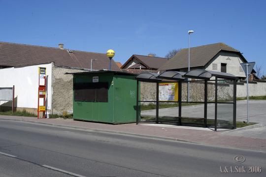 Autobusová zastávka Tehovičky