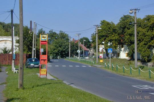 Autobusová zastávka Bártlova