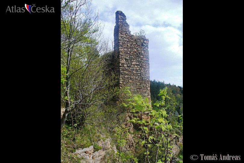 Zřícenina hradu Oheb