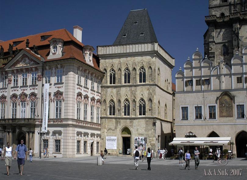 Galerie hlavního města Prahy - Expozice dům U kamenného zvonu