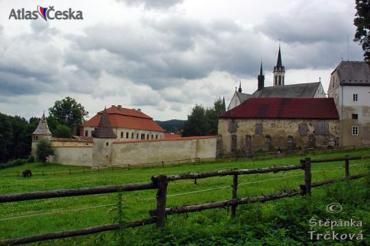 Cistercian monastery in Vyšší Brod -