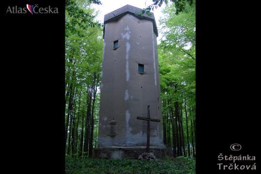 Zeměměřičská věž Vysoký Kamýk -