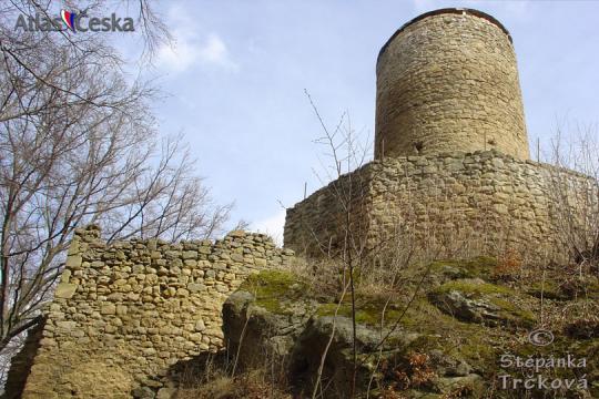 Zřícenina hradu Cimburk -