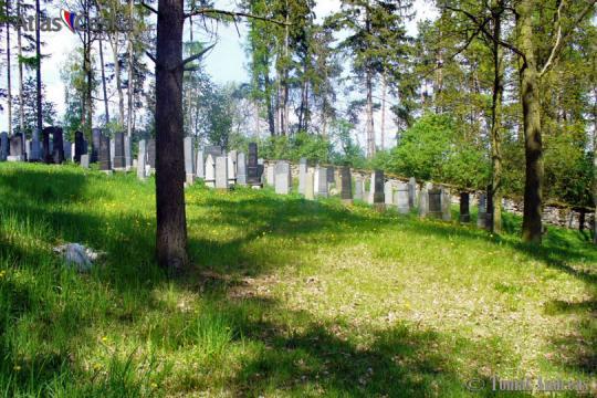 Židovský hřbitov v Kovářově -