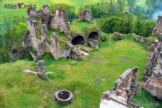 Zřícenina hradu Zvířetice -
