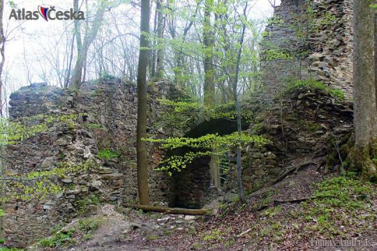 Zřícenina hradu Oheb -