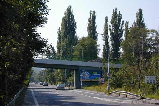 Most Závodu míru -