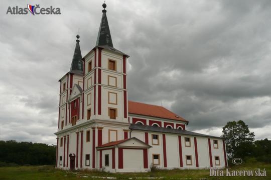 Kostel sv. Markéty - Podlažice -
