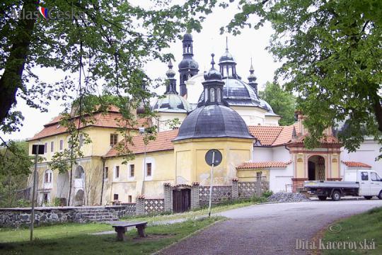 Poutní kostel Nanebevzetí Panny Marie - Klokoty -