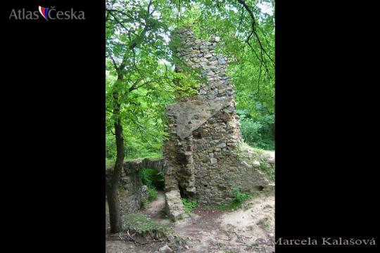 Zřícenina hradu Rabštejnek -