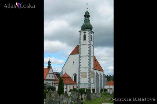 Kostel Nanebevzetí Panny Marie - Kájov -