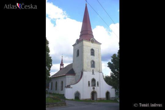 Kostel sv. Mikuláše - Světlá pod Ještědem -