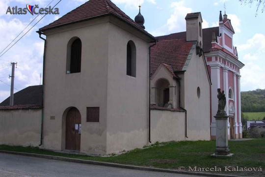 Kostel sv. Kateřiny - Tetín -