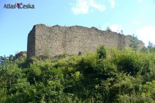 Zřícenina hradu Šelenburk -
