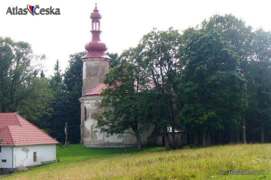 Kostel sv. Anny - Andělská hora -