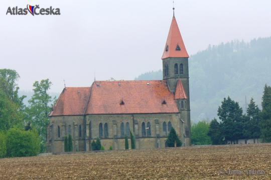 Kostel sv. Jana Křtitele - Damníkov -