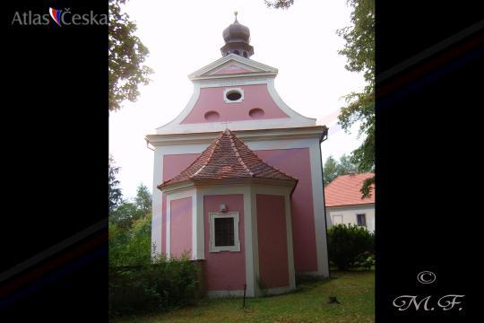 Kostel sv. Martina - Zbečno -