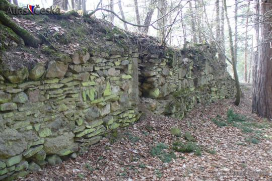 Zřícenina hradu Křikava -