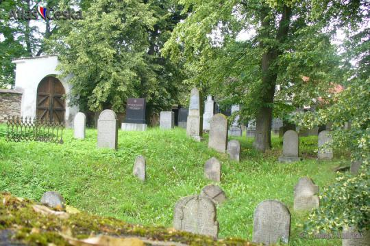 Židovský hřbitov Bechyně -