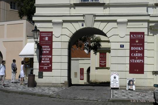 Národní galerie - Expozice Šternberský palác -
