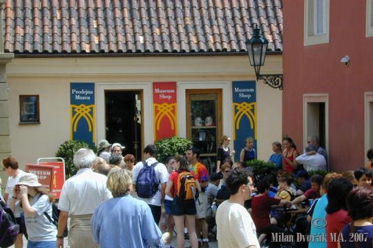 Zlatá ulička u Daliborky -