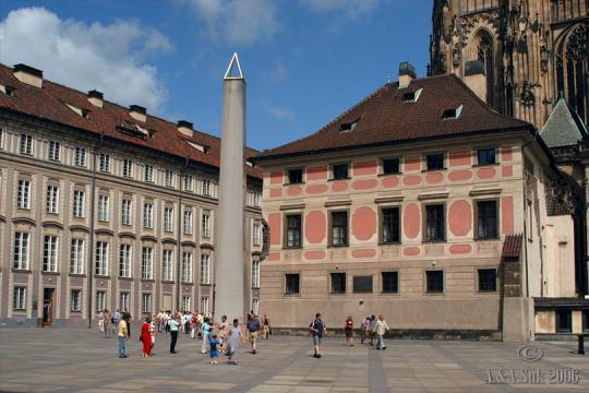 Pražský hrad III. nádvoří -