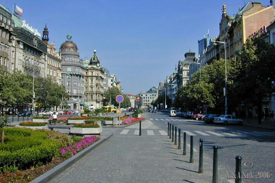 Wenceslas Square -