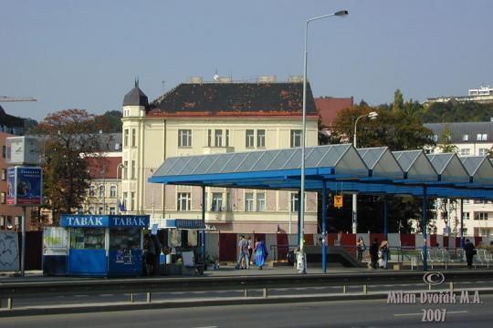 Stanice metra Vysočanská -