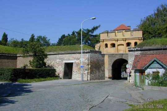 Brána Táborská -