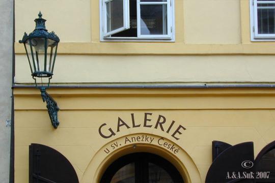 Národní galerie - Klášter Svaté Anežky České -