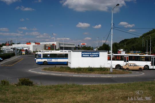Autobusove nádraží Praha Roztyly -