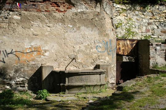 Kašna nad kostlem sv. Michala -