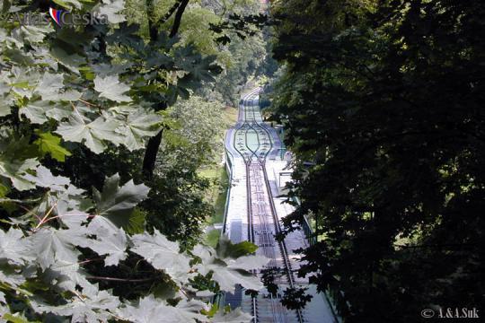 Petřínská lanovka -