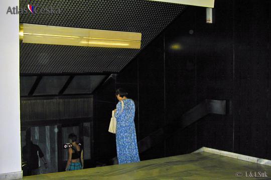 Újezd funicular stop -